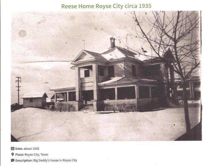 Reese Home 1935 001