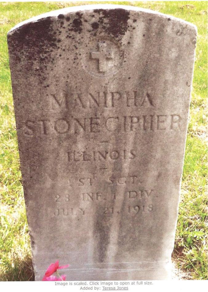 Maniphe Stonecipher - Headstone 001