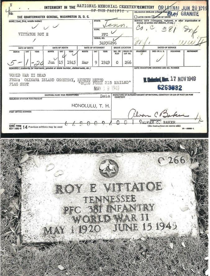 Roy Elmer Vittatoe