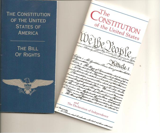 The Constitution of the United States of America 001