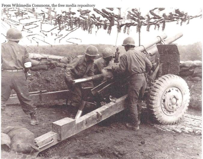 105mm Field Artillery unit