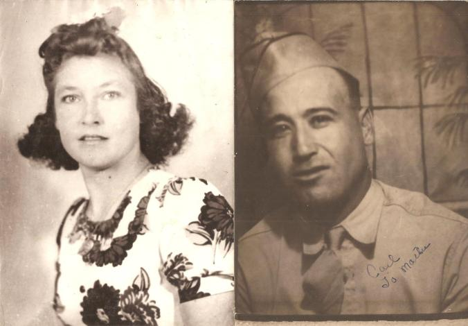 Eunah and Carl, early 40's