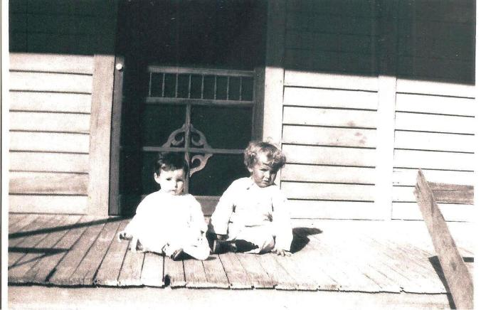 Guy C West and brother, Wayne
