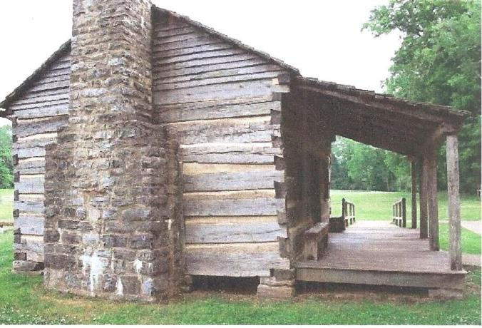 crockett replica cabin