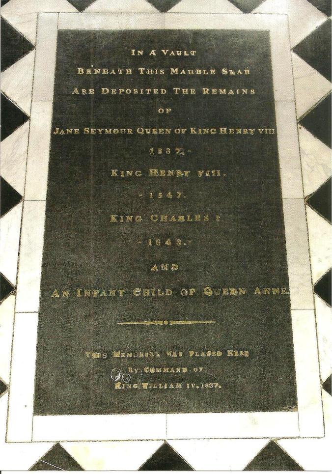 King Henry VIII Tomb
